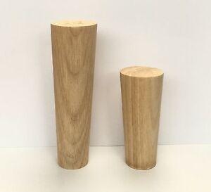 Image Is Loading 4 Wooden Furniture Legs Hardwood Retro Danish Leg