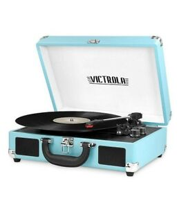 Innovative-Technology-Victrola-550BT-TRQ-Bluetooth-Suitcase-Turntable-Turquoise