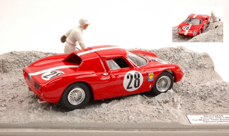 Ferrari 250 Lm  28 Le Mans Test 1965 Spoerry   Boller 1 43 Model BEST MODELS