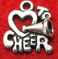 10pcs. Tibetan Silver love To Cheer Charms Pendants Earring Drops Sp35