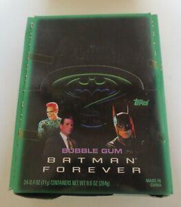 Topps Batman Forever Candy Heads Boîte Complète De 24 Riddler Two Face