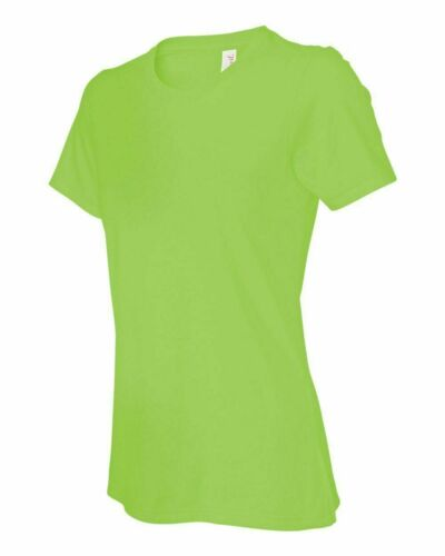 S-2XL CH Basic  Woman Plain T-Shirt Crew Neck Short Sleeve Stretch Cotton Tee