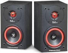 """1 Pair Cerwin-Vega! SL-5M 5.25"""" 2-Way Bookshelf Speaker, 125 Watts"""