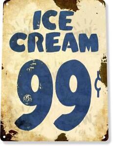 Ice-Cream-99-Cents-Shop-Parlor-Rustic-Metal-Decor-Sign