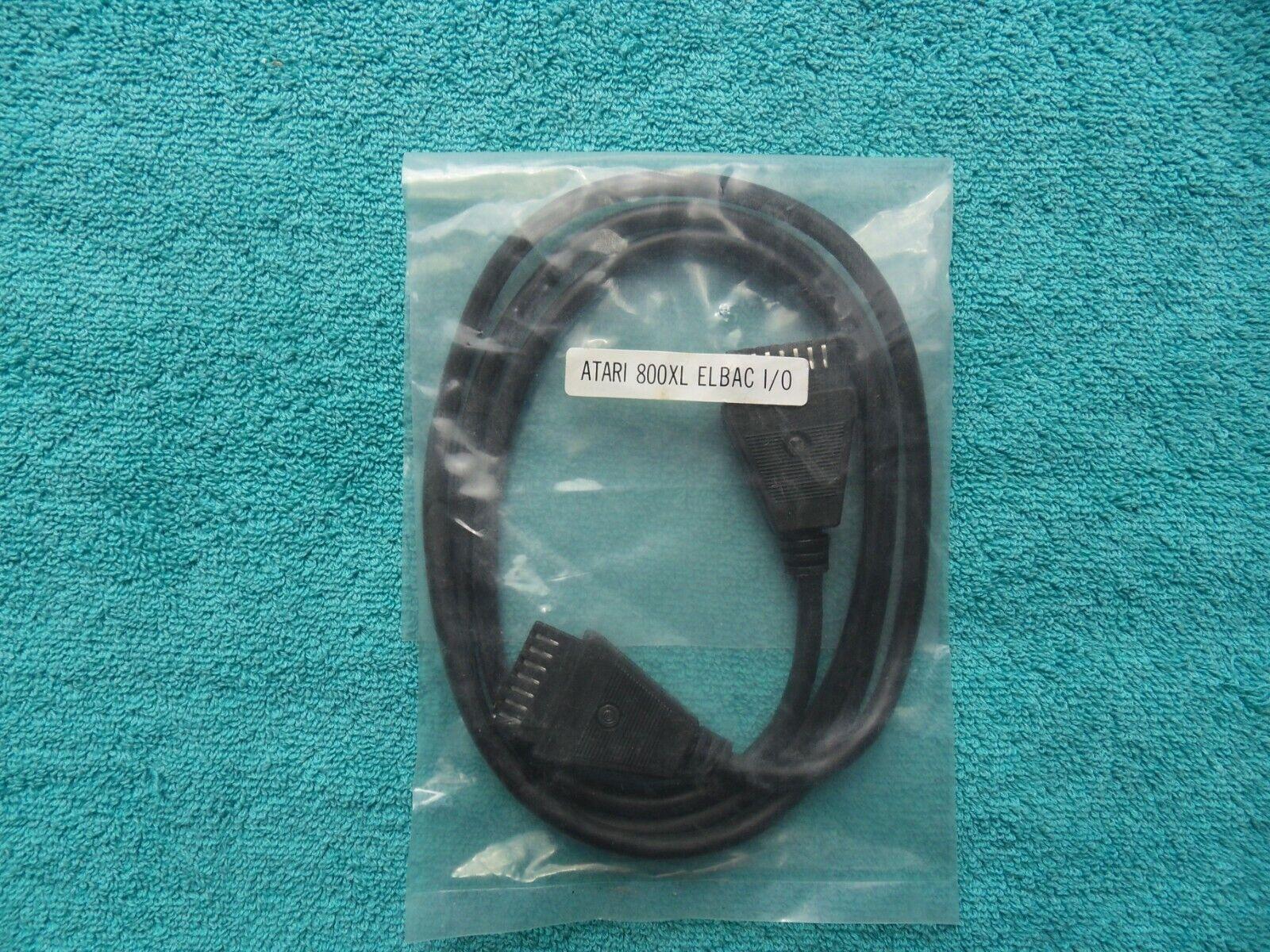 * new & sealed * SIO SERIAL PORT CONNECTOR CABLE LEAD - atari 800XL - elbac I/O