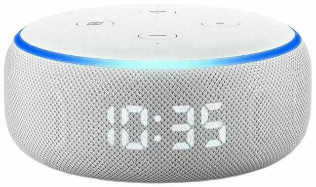 Amazon Echo Dot (3rd Generation) Smart Speaker with Clock ...