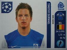 Panini 334 Timothy Durwael KRC Genk UEFA CL 2011/12
