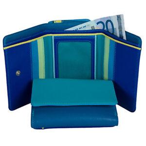 Mywalit Medium Purse Wallet Seascape 221-92 Neu Leder Geldbörse Portomonee Ungleiche Leistung Kleidung & Accessoires Damen-accessoires