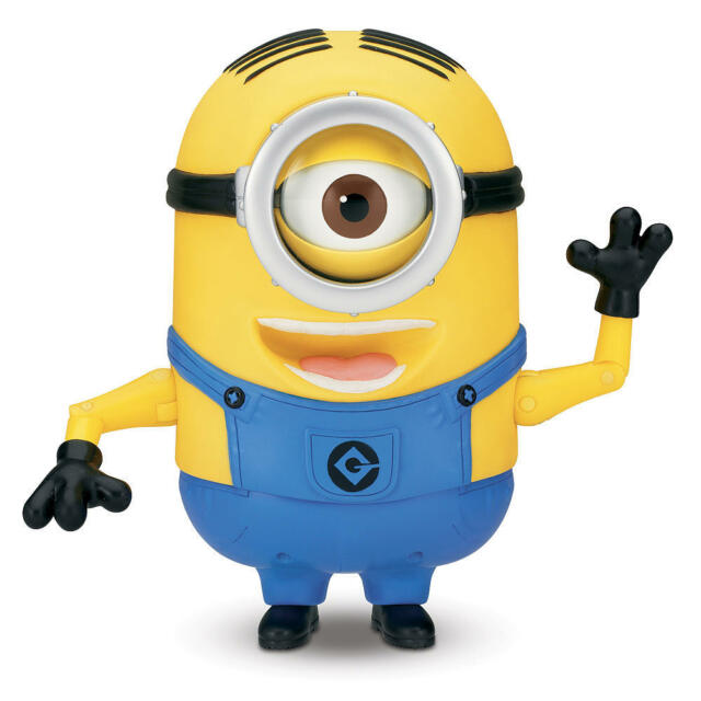 Despicable Me 2 8 inch 20 cm Talking Singing Minion - Stuart