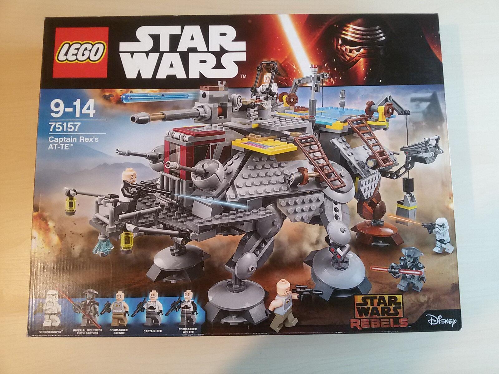 Lego 75157 Captain Rex`s AT-TE Neu OVP Star Wars