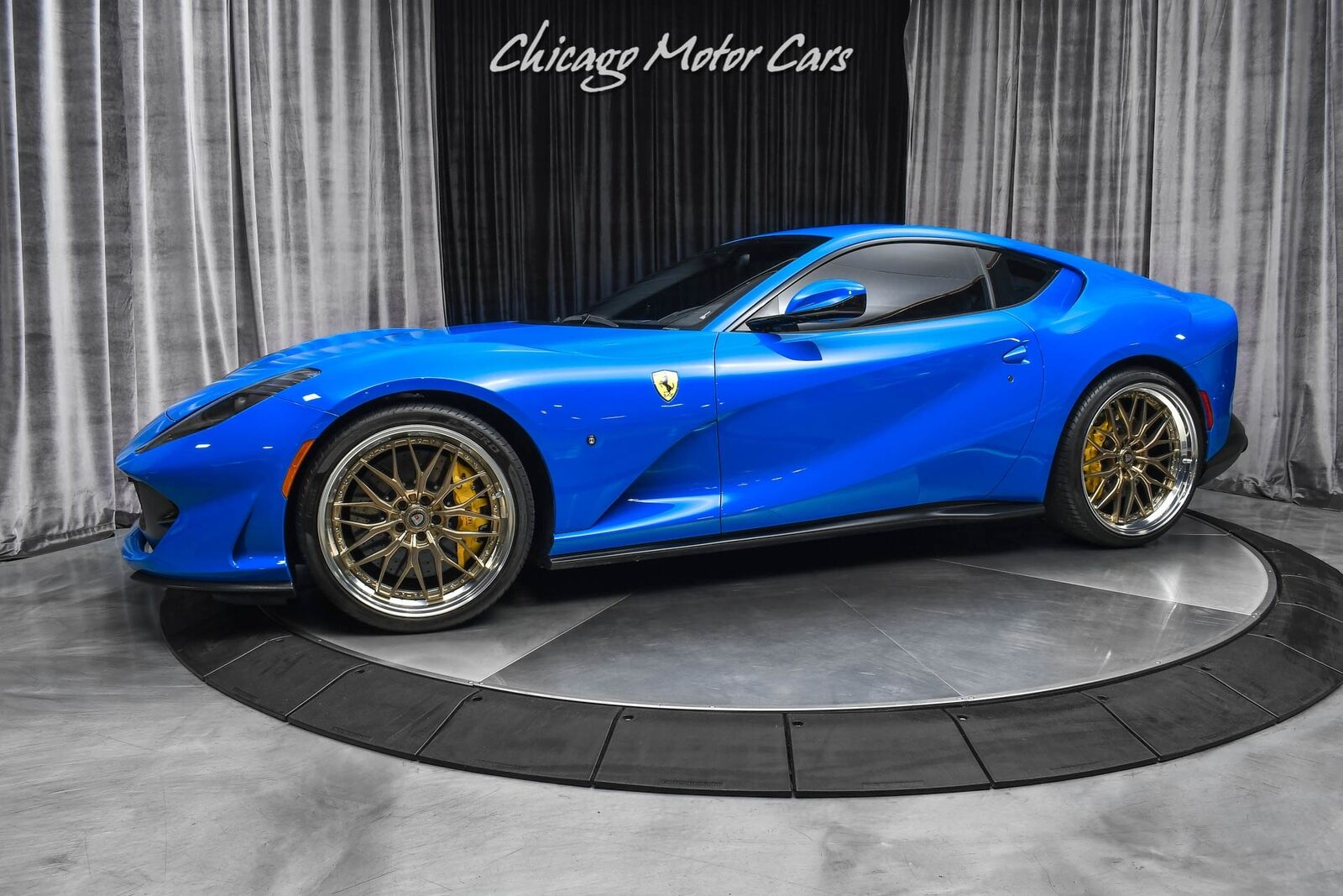 2019 Ferrari 812 Superfast RARE Azzurro Dino Paint! FULL PPF! Capristo Exhaus