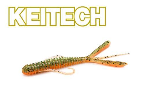 """KEITECH Hog Impact 3,5/"""" cancer-imitation 8,5 cm perche-truite"""