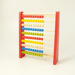 Abacus-Educational-Wooden-Counting-Beads-Early-Learning-Numbers-10-Bars