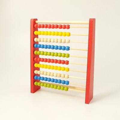 Abacus Conteggio Perline In Legno Early Learning Numeri Educativo 10 Bar-mostra Il Titolo Originale Impermeabile, Resistente Agli Urti E Antimagnetico