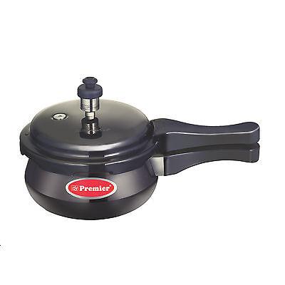 Premier Trendy Black Handi Pressure Cooker 1.5 Lit