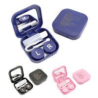 Mini Contact Lens Storage Set Travel Kit Lenses Holder Soaking Case Box