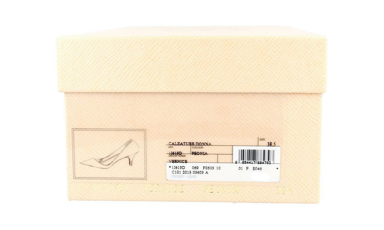 SCARPA DECOLLETE PRADA LUSSO LUSSO LUSSO 1I619D PEONIA NUOVE 39,5 40 UK 6.5 af582b