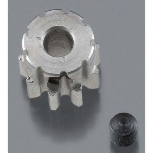Super Hard Steel Pinion Gear 1//8 Bore Mod 0.8 Robinson Racing 1709 9T 32P