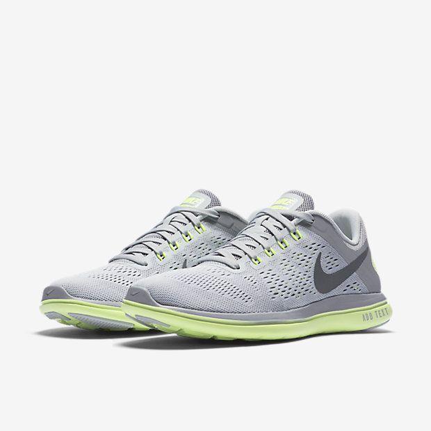 Nike Wmn's Flex 2016 RN Running Training Shoe Grey & Mint  830751 011 Size 11