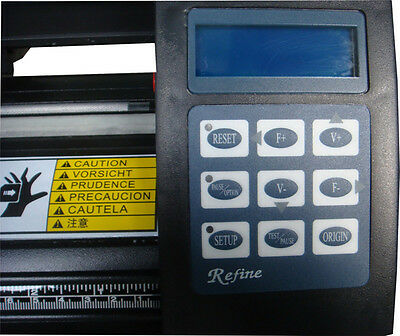 REFINE Schneideplotter EH 1351 126cm  Win 7/ 8/ 10 (32&64 bit)USB