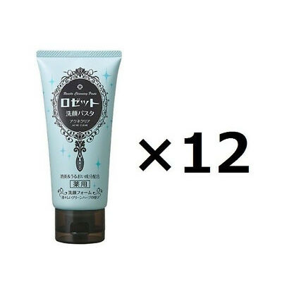12 pcs ROSETTE Cleansing Paste 120g ACNE CLEAR Face Wash from Japan