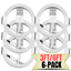 miniature 1 - 6 Pack 3/6Ft USB Fast Charger Cable Lot For Apple 12 11 XR 8 iPad Charging Cord