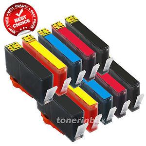 10 Pack Compatible 564XL Ink Set for HP Photosmart 7510 7515 7520 7525 D7560