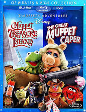 Of Pirates  Pigs Collection: Muppet Treasure Island/The Great Muppet Caper (Blu-ray/DVD, 2013, 2-Disc Set)