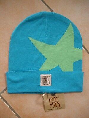 (p13) Finemente Lavorato A Maglia Berretto Freaky Testa Beanie Inverno Berretto Boyfriend Big Star + Logo-mostra Il Titolo Originale