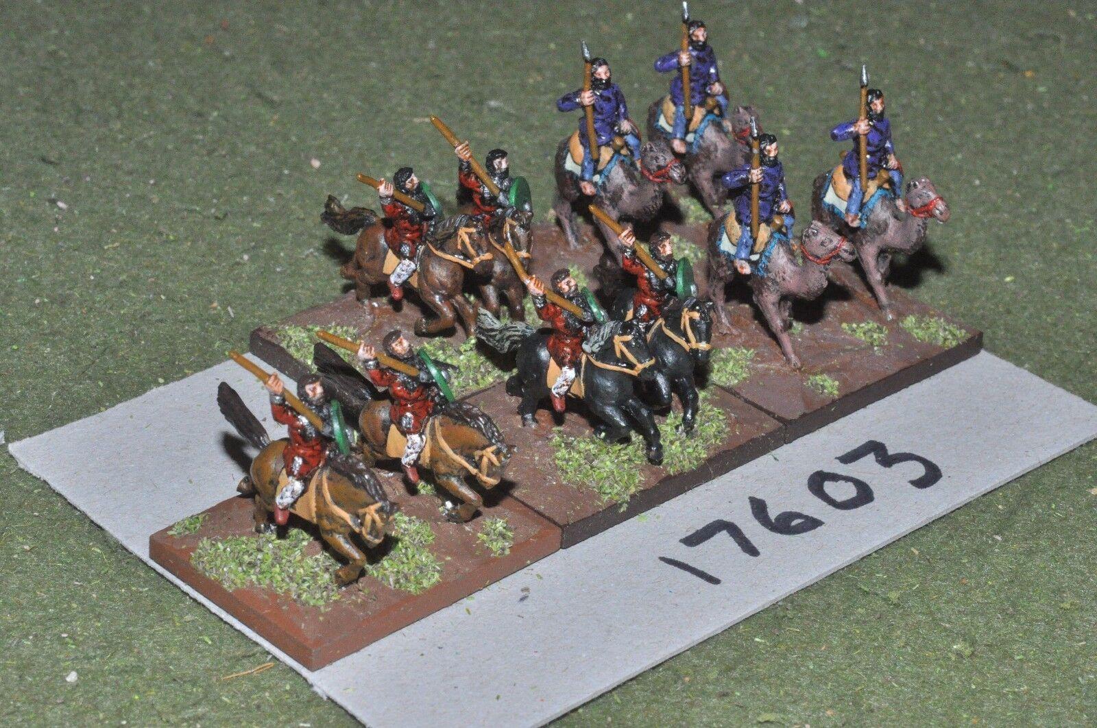 15mm roman era   roman - light cavalry & camels 10 cavalry - cav (17603)