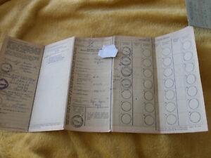 ENFIELD-125-RE-1955-REG-KOH-8-Vintage-RF60-Buff-CYCLE-OLD-Log-Book-Memorabilia