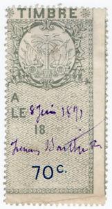 I-B-Haiti-Revenue-Duty-Stamp-70c