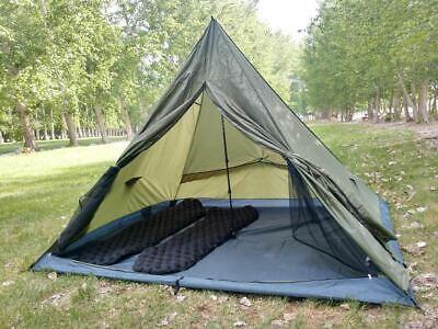 Camping Equipment Tent Poles Bar Rod Peg Trekking Pole Storage Bag Container