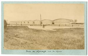 Nederland-Pays-Bas-Pont-De-Moerdijk-sur-la-Meuse-Vintage-albumen-print-Tira