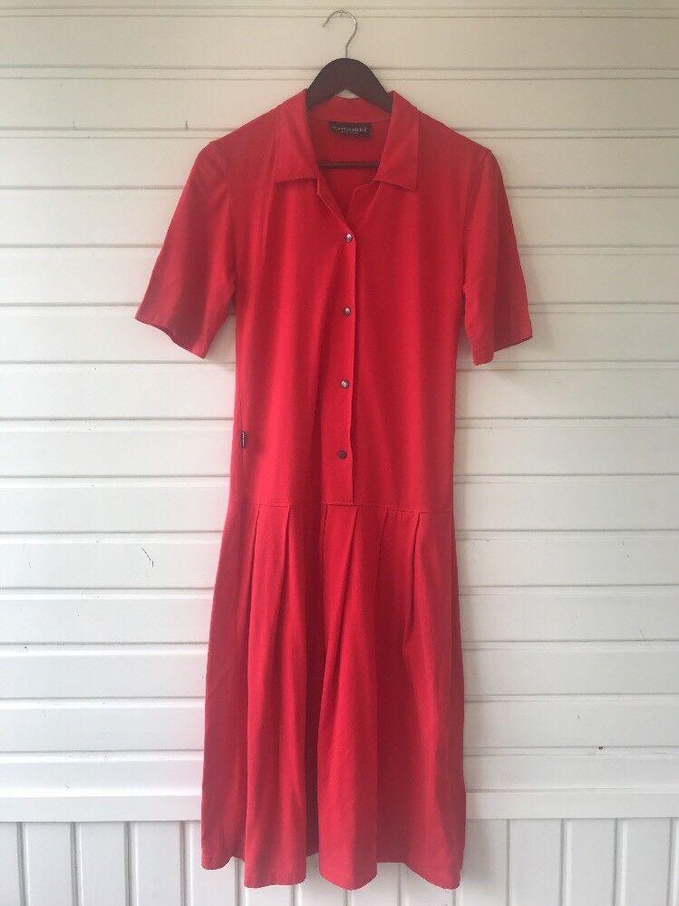 Elegant Vintage  Dress By Marimekko Marimekko Marimekko Size XS Nice Cut And color 60a140
