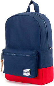 Backpack-Baby-Boy-Girl-Herschel-Small-Settlement-Backpack-Youth-Navy-Red-11L