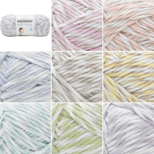 Bernat Supersoft Chunky Baby Marly Blanket Polyester Knitting Yarn 300g Ball
