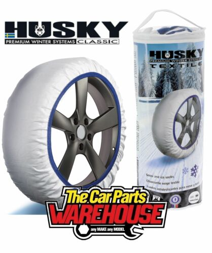 255//60R17 ⭐️ Husky Snow Socks ⭐️ Like Chains to fit tyre size 255//60//17