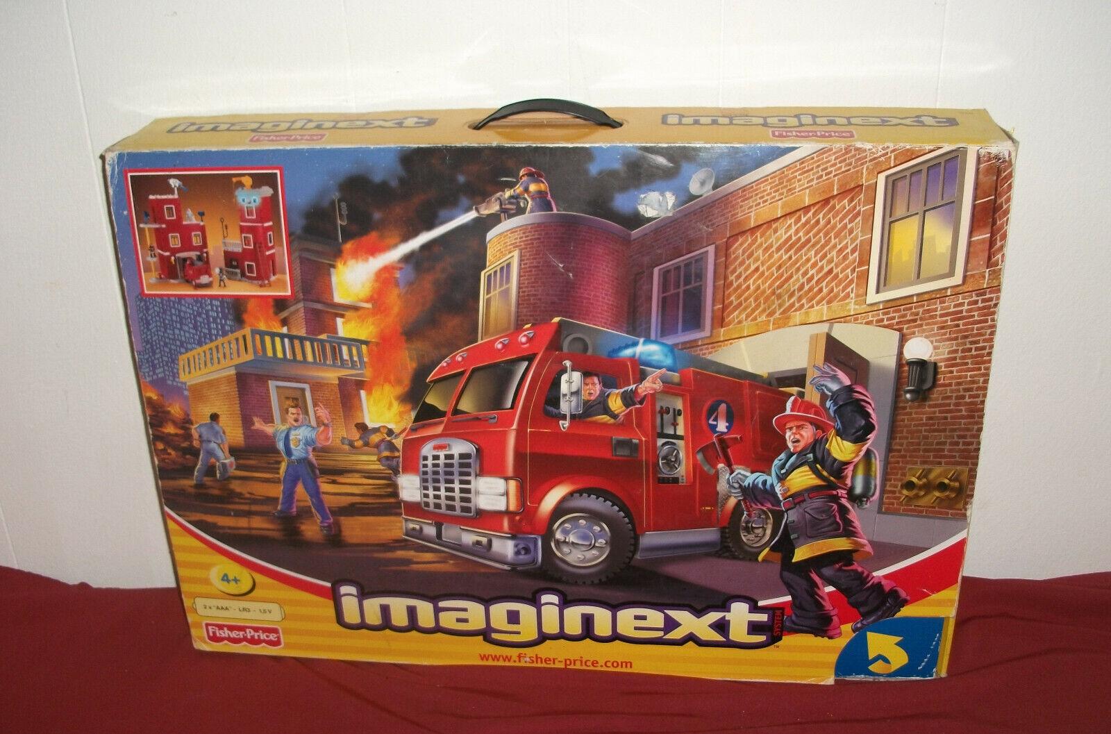 Fischer-Preis Feuerwehrstation. Große Feuerwehrstation Imaginext.