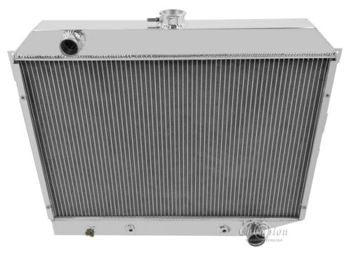 1968 1969 1970 1971 1972 1973 Satellite 3 Row Champion DR Aluminum Radiator