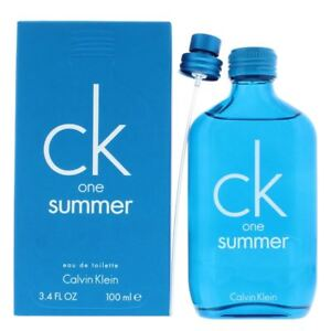 Calvin Klein CK One Summer Eau de Toilette 100ml Spray Unisex - EDT NEW.