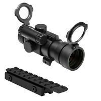 Ncstar 1x30mm Red Dot Scope Sight + Rail Mount For Henry 22 Lever Action Carbine