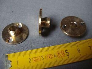 1 Raccord Plaque En Laiton Diamètre 25 Mm Sortie Mâle En Pas 10 Mm X 1 Mm Qualité Et Quantité AssuréE