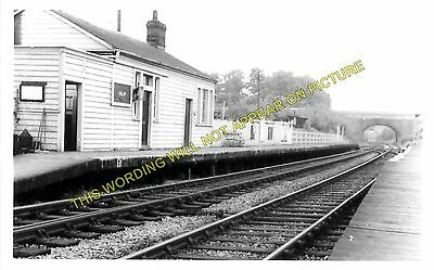 Wolvercot LNWR 1 Oxford to Bicester Oddington Islip Railway Station Photo