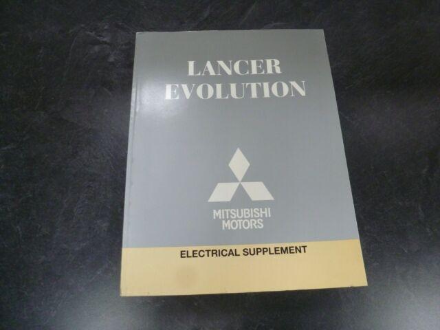 2011 Mitsubishi Lancer Evolution Sedan Electrical Wiring