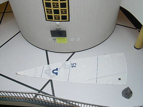 Main Sail Challenge WarpDrive bi-radial luff=27-10 foot=10-5 mainsail