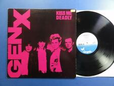 GENERATION X  KISS ME DEADLY Chrysalis 81 A1B2 UK LP EX-