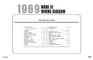 1969 Lincoln Mark III Electrical Wiring Diagrams Schematics ... 1962 chevy truck wiring diagram eBay