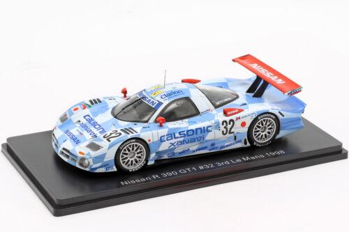 Kageyama 1:43 Spark Nissan r390 gt1 #32 3rd 24h 1998 Lemans Suzuki Hoshino