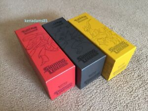 Pokemon-TCG-Shining-Leg-3-x-Premium-Card-Storage-Boxes-Genesect-Zoroark-Arceus
